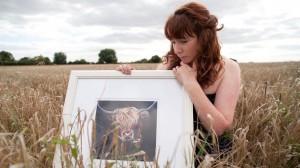 Samantha Morris, Cow Artist